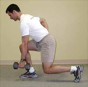 remo a un brazo posicion descendente